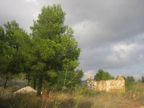 Parcela con ruina Benissa