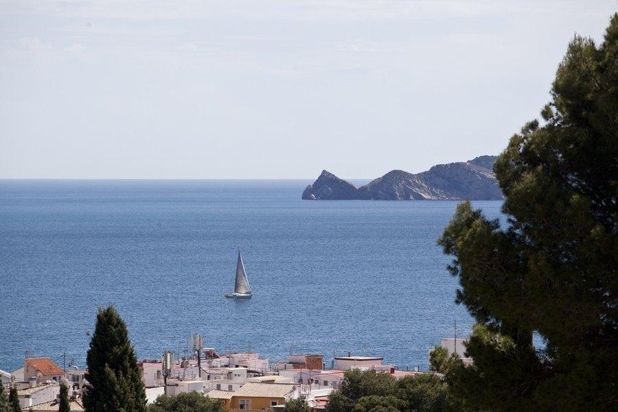 Chalet con vistas al mar en el Puerto de Jávea